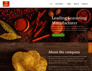 hariommasala.com screenshot