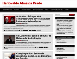 hariovaldo.com.br screenshot