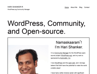 harishanker.net screenshot