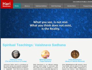harisharanam.com screenshot