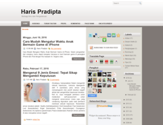 harispradipta.blogspot.com screenshot