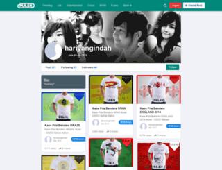 hariyangindah.pulsk.com screenshot
