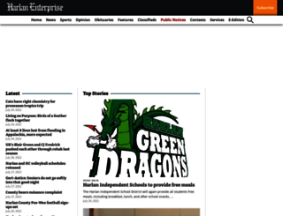 harlandaily.com screenshot