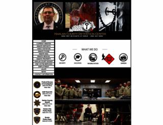 harlandc.com screenshot
