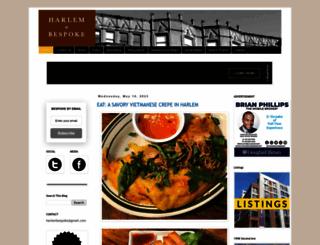 harlembespoke.blogspot.com screenshot