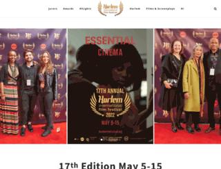 harlemfilmfestival.org screenshot