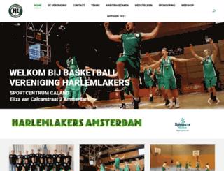 harlemlakers.nl screenshot