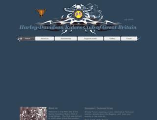 harley-davidson-hangout.com screenshot