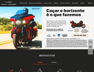 harleydavidsonfloripa.com.br screenshot