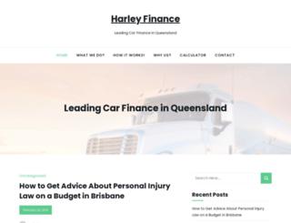 harleyfinance.com.au screenshot