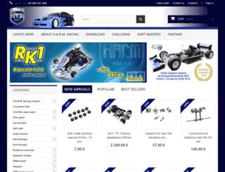 harm-racing-products.com screenshot