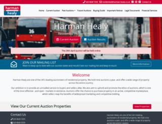 harman-healy.co.uk screenshot