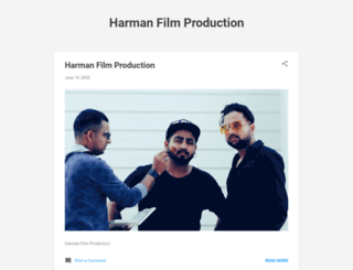 harmanproduction.blogspot.in screenshot