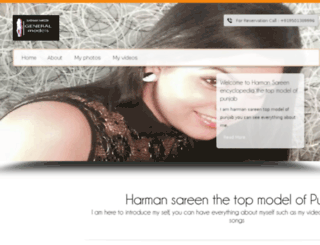 harmansareen.com screenshot