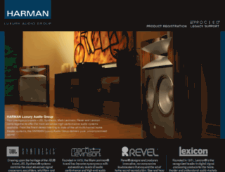 harmanspecialtygroup.com screenshot