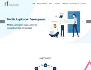 harmistechnology.com screenshot