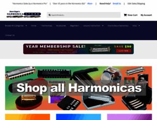 harmonicastore.com screenshot