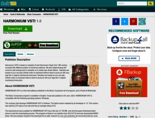 harmonium-vsti.soft112.com screenshot