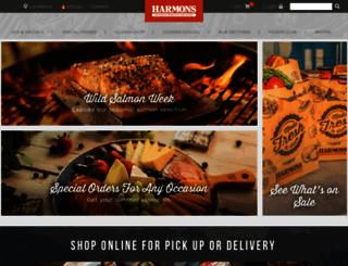 harmonsgrocery.com screenshot