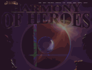 harmonyofheroes.com screenshot