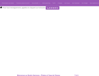 harmonypilates77.e-monsite.com screenshot