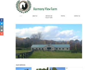 harmonyviewfarm.com screenshot