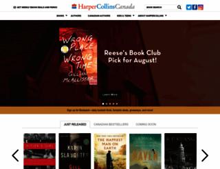 harpercollinsca.hc.com screenshot