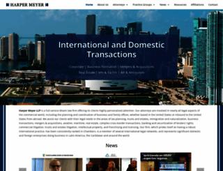 harpermeyer.com screenshot