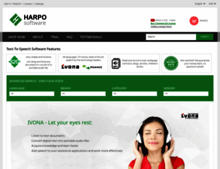 harposoftware.com screenshot
