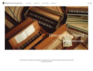 harpsichord.com screenshot