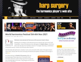harpsurgery.com screenshot
