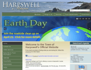 harpswell.govoffice.com screenshot