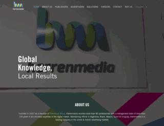 harrenmedia.com screenshot