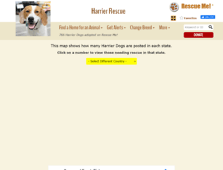 harrier.rescueme.org screenshot