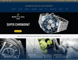 harringtonhallworth.co.uk screenshot