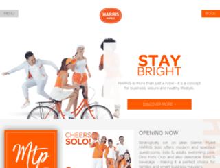 harris-batam.com screenshot