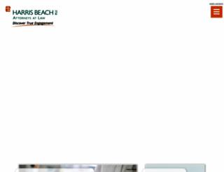 harrisbeach.com screenshot