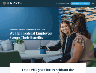 harrisfederal.com screenshot