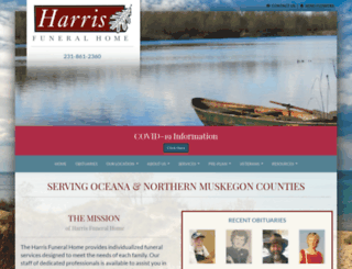 harrisfhome.com screenshot