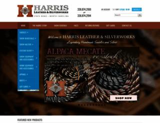 harrisleather.com screenshot