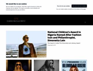 harrismanagement.prezly.com screenshot