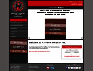 harrison-lear.com screenshot