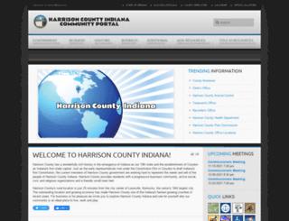 harrisoncounty.in.gov screenshot