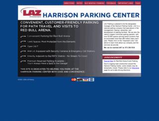 harrisonparkingcenter.com screenshot