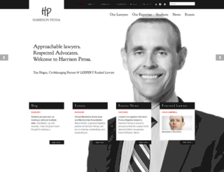harrisonpensa.com screenshot
