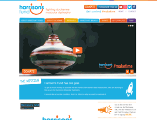 harrisonsfund.com screenshot