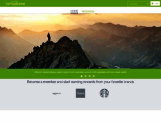 harrispollonline.com screenshot