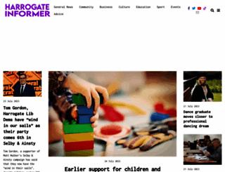 harrogate-news.co.uk screenshot