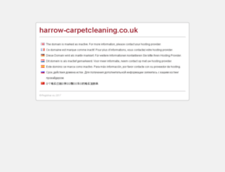 harrow-carpetcleaning.co.uk screenshot