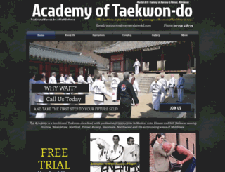 harrowmartialarts.com screenshot